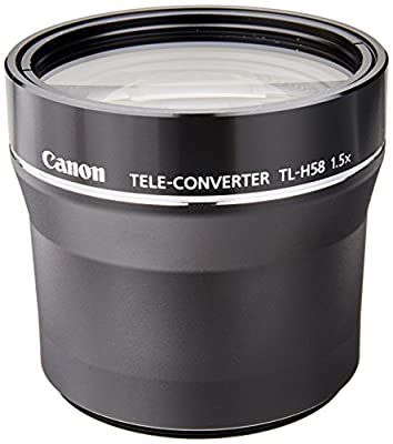 Canon Tele-Converter TL-H58 for XF205, XF200, XF105, XF100, XA25, XA20, XA10 Professional Camcorder by Canon