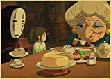 Miyazaki Hayao Spirited Away Puzzle 1000 Pieces Jigsaw Puzzles for Adults Jigsaw Puzzles, Puzzle Sets for Family, Educational Games, Brain Challenge Puzzle for Kids Birthday Gift