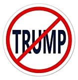3 Pack - Anti-Trump No Trump Vinyl Bumper Sticker Decal