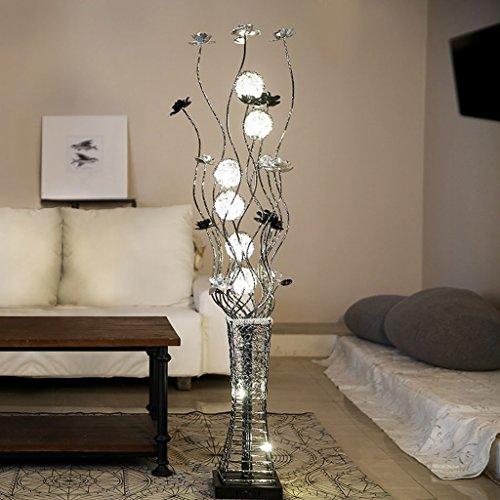 AMOS Lampada da terra Lampade da salotto verticale creative Semplice vaso Camera da letto Lampada da terra Pedale