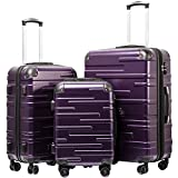 Best Hard Suitcases - Coolife Luggage Expandable Suitcase 3 Piece Set Review