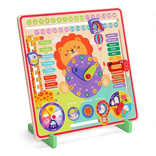UEXCN Baby Holz Busy Board Montessori Wetter Jahreszeit Zeit Kognitive Rätsel Kind Früherziehung Pädagogische Figuren Spielzeug