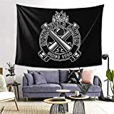 JUHGN Springfield Armory Gun Tapestry Poster Wall Hanging, Boutique Art Wall Hanging Tapestry Tapestry for Living Room Bedroom Home Decor ( 60