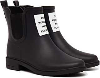 L-Rain LR Women's Short Rain Boots Waterproof and Anti-Slipping Rain Shoes Chelsea Booties