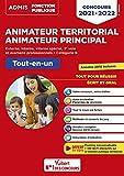 Concours Animateur territorial Animateur principal externe, interne, interne spécial, 3e voie et examens professionnels, catégorie B - Tout-en-un