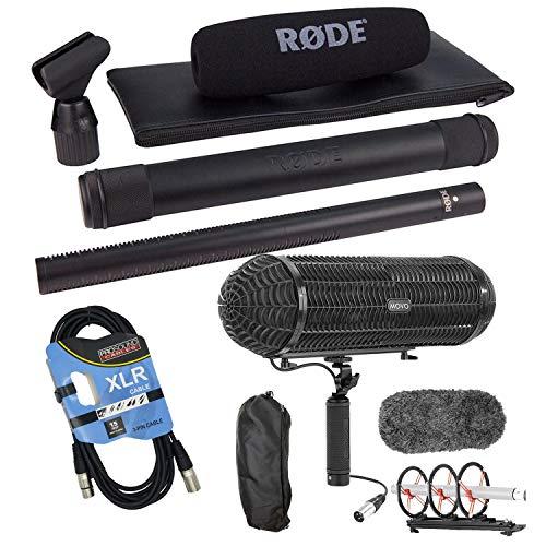 Rode NTG3 Precision RF-Biased Shotgun Microphone, Movo BWS1000 Blimp, XLR Cable Bundle