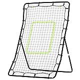 HOMCOM Rebounder Net Playback Soccer Football Game Spot Target Ball Rebounders Training Equipment