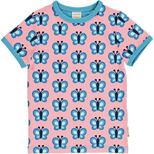 Maxomorra T-Shirt Mädchen Schmetterling Bluewing Butterfly (98-104)