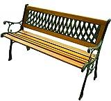 Panchina Blinky Regina da esterno in ghisa e legno