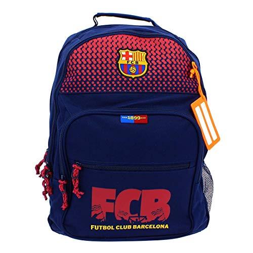 Safta Mochila F.C. Barcelona Corporativa Oficial Mochila Escolar, 320x160x420mm