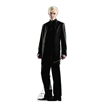 Advanced Graphics Draco Malfoy Life Size Cardboard Cutout Standup - Harry Potter and The Deathly Hallows
