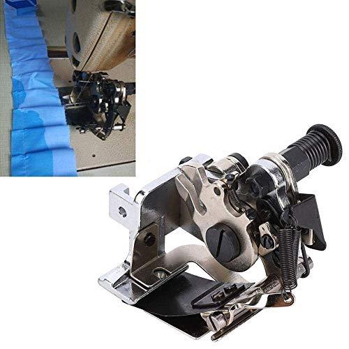HEEPDD Pie Ruffler, Accesorio de máquina de Coser A900 Parte 4/8 Aguja por Pliegue para Recoger Pliegues y Volantes