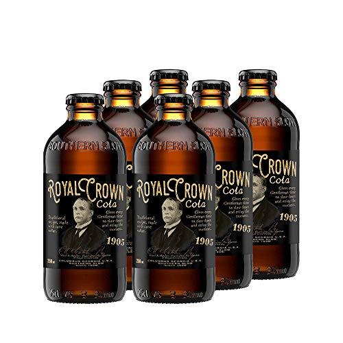 Royal Crown Cola Classic, mit echtem Rohrzucker (6 x 250ml) altes RC Cola Rezept von 1905