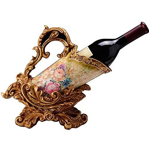 LG Snow Estante Europeo del Vino Retro Decoración Casera Creativa Botella De Vino Estante Decoraciones De La Sala De Estar