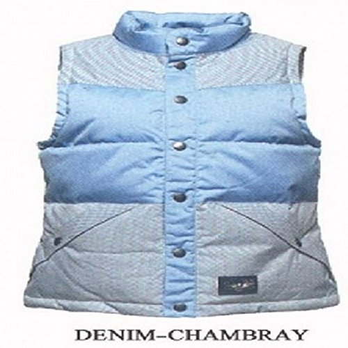 L1 Outerwear L1 Sheena Vest denim jas, dames, blauw, S