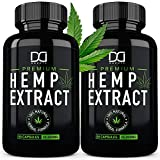 Hemp Oil Capsules That Work - Made with enriched hemp oil (500mg per serving) and loaded with healthy fatty acids Omega 3, 6, 9. All of our ingredients are naturally sourced and designed to work with your body and not against it. A truly premium edib...