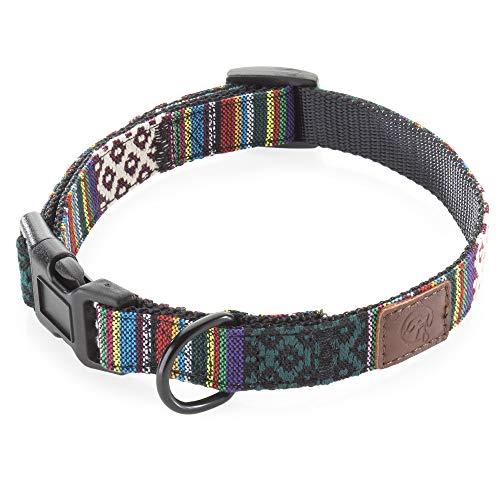 Embark Urban Dog Collar - Dog Collars for Medium Dogs, Small and Large Dogs (Mayan, Small)