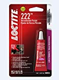 Loctite 555339 Threadlocker 222 Low Strength Tube, Purple, 6-ml