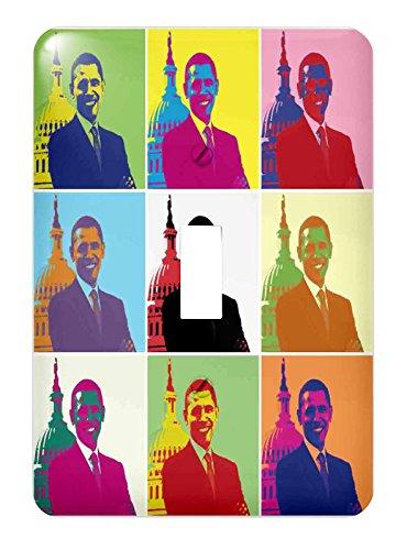 3dRose lsp_130692_1 President Barack Obama Pop Art (Multi-Views) - Single Toggle Switch