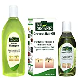 Indus Valley Bio Organic Natural Growout Shampoo Toxic Chemical-free with Growout Hair Oil