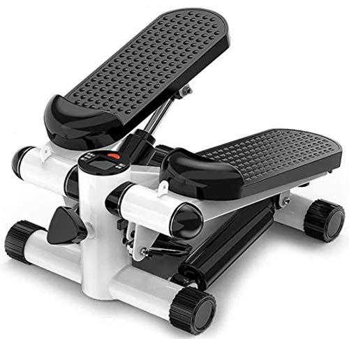 Für Männer Multifunktions Twist Aerobic-Stepper Drehstepper & Sidestepper,verstellbarem,rutschfeste Trittfläche,Home Mute Fahrrad Sportgerät+Kalorien und Schrittzahl,Pedal Fitness Fett Verlieren