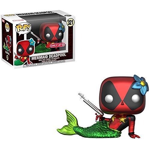Funko Deadpool - Figura de vinilo de Marvel y 1 protector gráfico de plástico PET [#321 / 32593 - B]