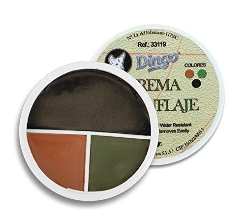 Outletdelocio. Tarro de 3 Colores. Pintura de Camuflaje. Marron, Verde y Negro. 30 Gramos