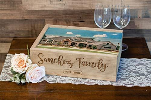 Custom Wine/Photo Box heirloom gifts