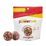 Protein Power Ball Healthy Snacks - Single Serving Packs - Gluten Free, Dairy Free, Soy Free, Vegan, Energy Bites (Maple Dark Chocolate Sea Salt, 3 Pack)