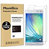 PHONILLICO [Pack de 2] Verre Trempe Samsung Galaxy A5 2015 - SM-A500 - Film Protection Ecran Verre...