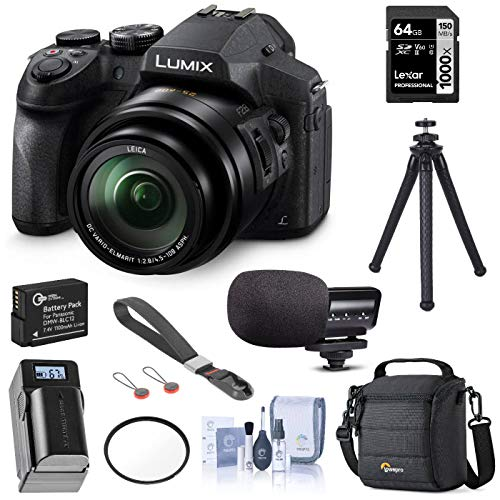 Panasonic Lumix DMC-FZ300 Digital Camera, 12.1...
