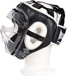Valour Strike Boxeo Protector de Cabeza Casco Protector para El Casco y # x2605; Artes Marciales Kick Cara UFC Lucha Formaci/ón Headgear /& # x2605; Sparring Protector Gear Impacto Zero