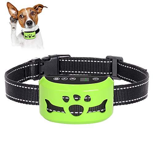 AHJDL Dog No Barking Collar (Green)