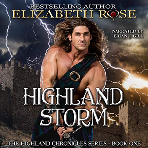 Highland Storm audiobook cover art
