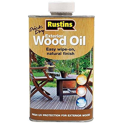 Rustins EWDOIL500 zewnętrzny olej do drewna 500 ml