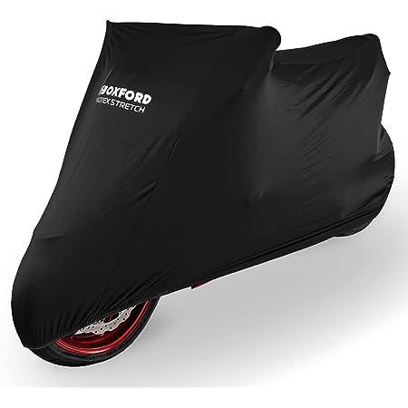 Oxford Protex Premium Stretch Passform Innenraum Motorrad Abdeckung Schwarz M Auto