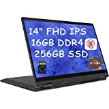 Lenovo Flex 5 Premium 2020 2 in 1 Business Laptop I 14' FHD IPS Touchscreen I AMD Ryzen 5 4500U ( i7-8550U) Hexa-Core I...