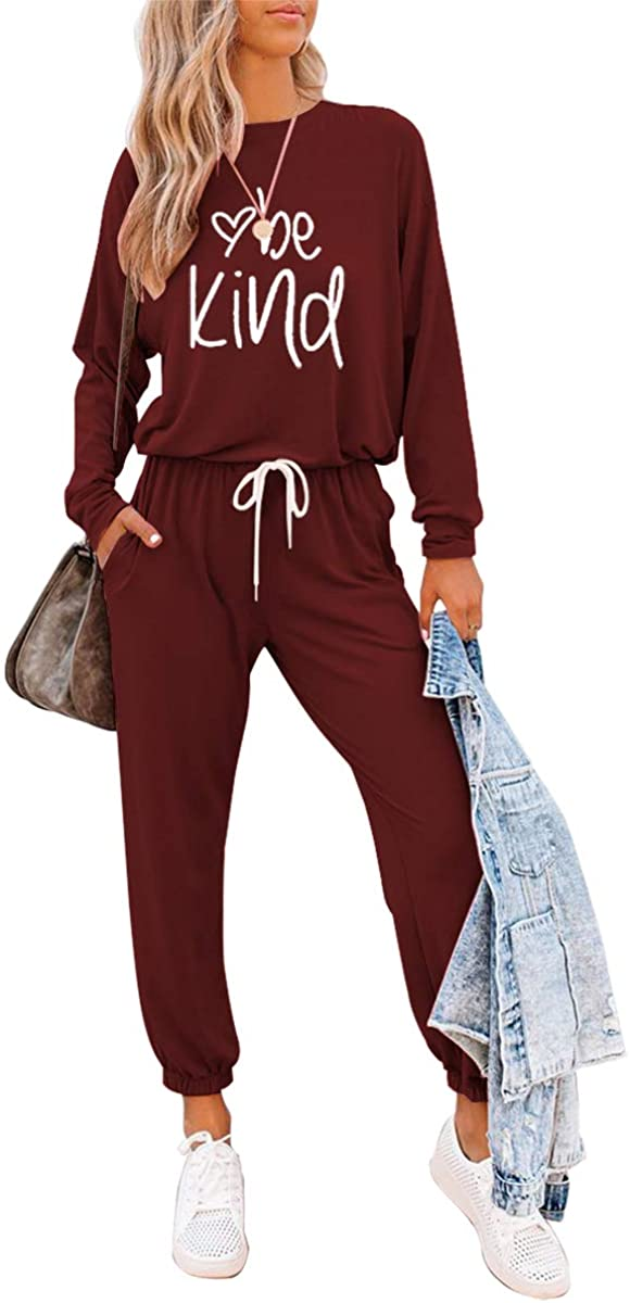 ETCYY Women's Two Piece Outfits Sweatsuit Set Long Pajamas 1 year warranty Pant Nashville-Davidson Mall