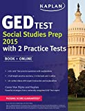 By Caren Van Slyke Kaplan GED?? Test Social Studies Prep 2015: Book + Online (Kaplan Test Prep) (PAP/PSC) [Paperback]