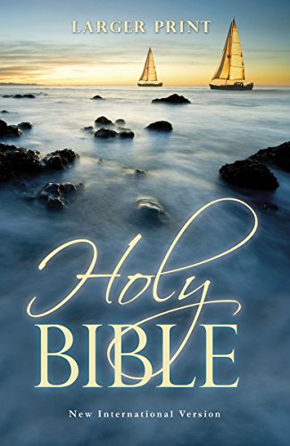 Compare Textbook Prices for NIV, Holy Bible, Larger Print, Paperback Larger Print Edition ISBN 9781563207211 by Zondervan