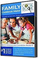 パーソナライズされた料理本作成キット – 将来の世代に家族レシピを保存 – 迅速、便利、使いやすい(10枚の印刷料理本付きパーソナライズキット)