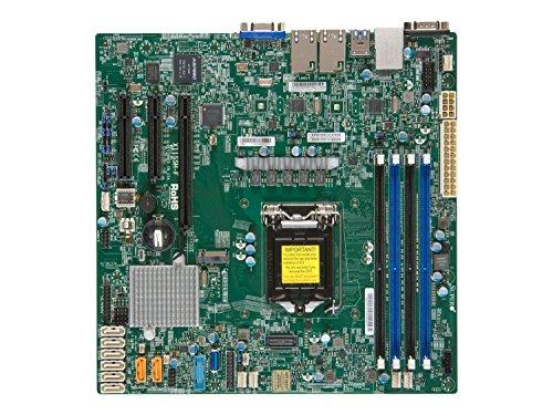 Supermicro X11SSH-F - Mainboard - Mikro-ATX, MBD-X11SSH-F-O