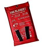 Lonnsaffe Coperte antincendio Coperta antinfortunistica per coperta antincendio in fibra d...