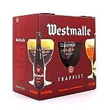 WESTMALLE - Coffret 6 bières trappistes belges + 1 verre