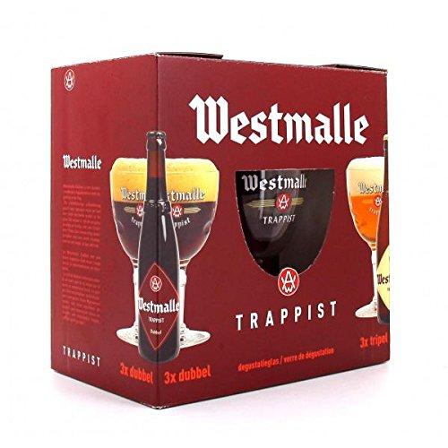Brasserie De Westmalle - Estuche Westmalle 6*33Cl + 1 Vaso