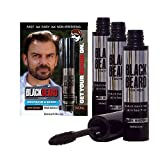 Blackbeard for Men - Instant Brush-On Beard & Mustache Color - 3-pack...