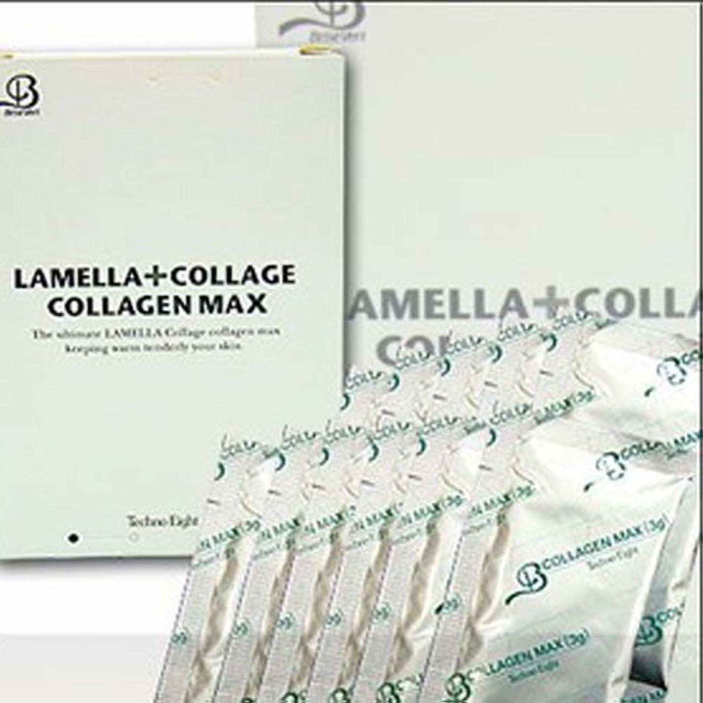 同じ第二宿題テクノエイト ブリーズベール ラメラ コラージュ Collagen MAX 30g (3gX10包) コラーゲンマックス