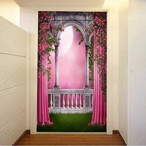 Xzfddn Personalizado 3D Mural Papel pintado 3D Pasillos Sofá Tv Mural Luz de Luna Paisaje Natural Dormitorio Sala Hotel Restaurante Papel pintado