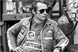 Póster 150 x 100 cm: Niki Lauda, German Grand Prix, Nürburgring 1976 de Motorsport Images - impresión artística, Nuevo póster artístico