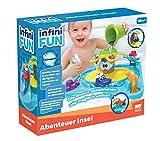 Infini Fun DES17150 Badespaß Abenteuerinsel, Badewannenspielzeug für Kleinkinder, farbenfroh...